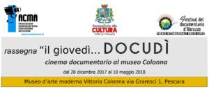 Logo rassegna Docudì 2017-2018